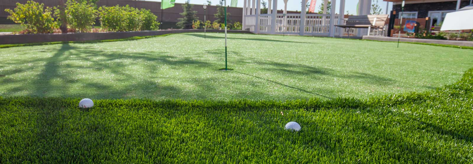 Artificial Turf Grass Edmonton | Backyard Golf Putting ...